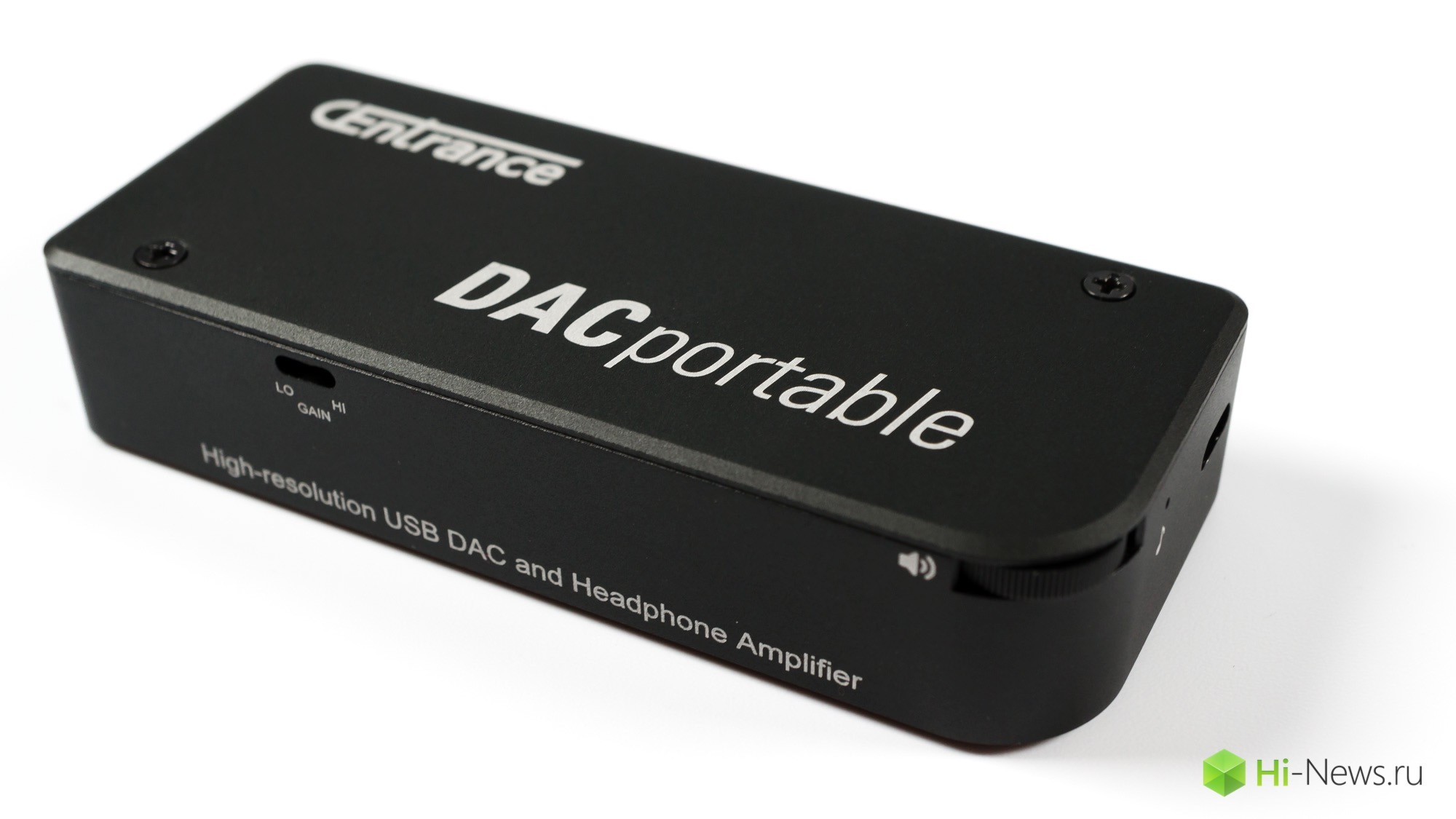 Browse portable DAC and headphone amplifier CEnrance DACPortable