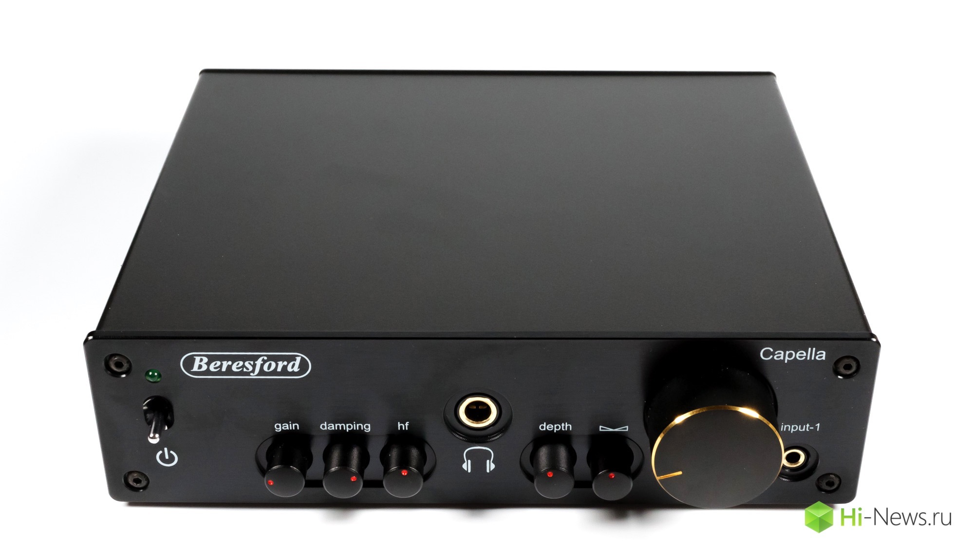 Review headphone amplifier, Beresford Capella
