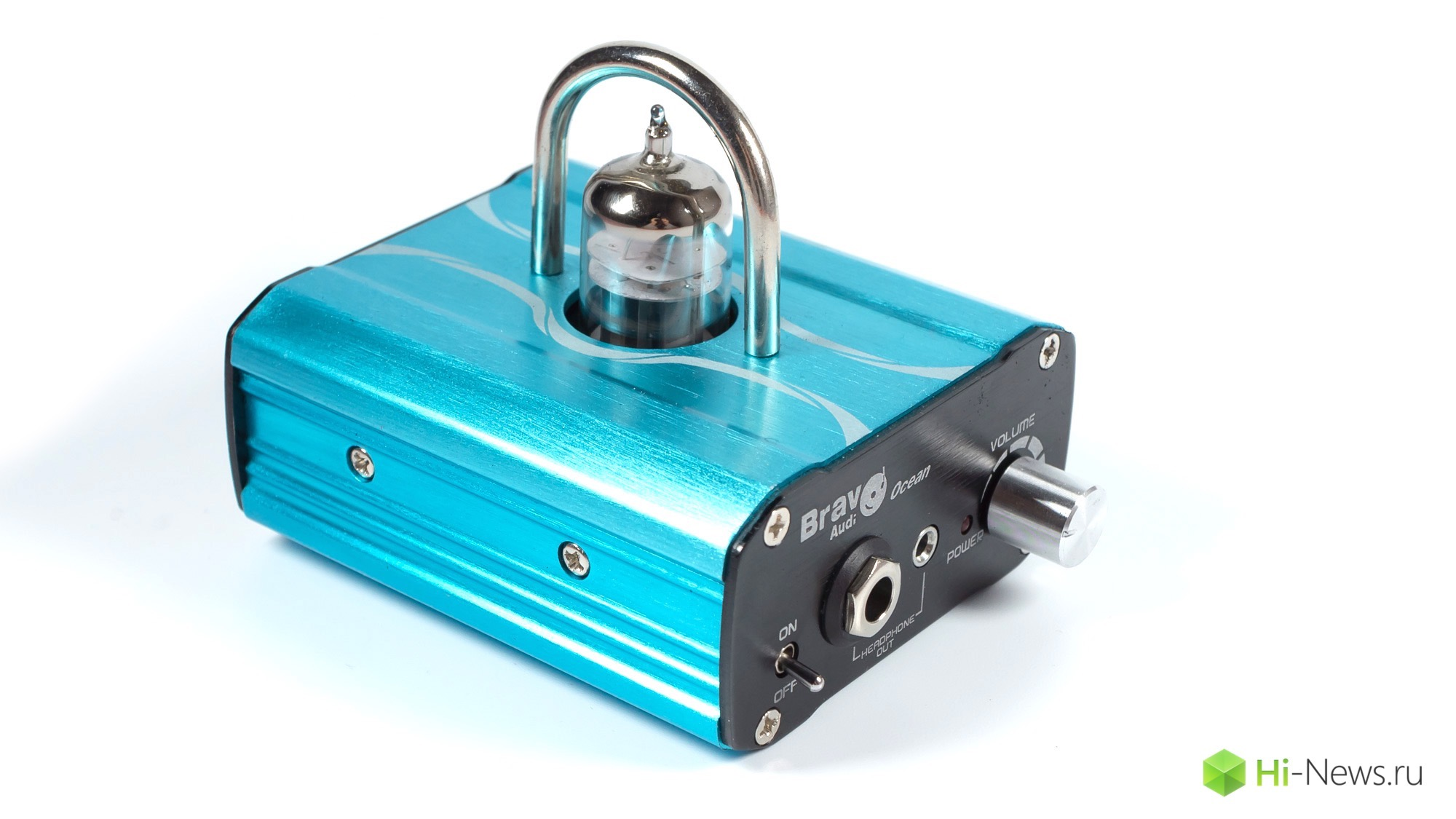 Review of headphone amplifier Bravo Audio Ocean — for music lovers