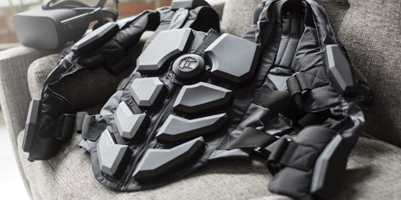 Startup NullSpace presented tactile VR suit for virtual reality