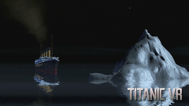 Virtual reality will allow you to survive the sinking of the Titanic