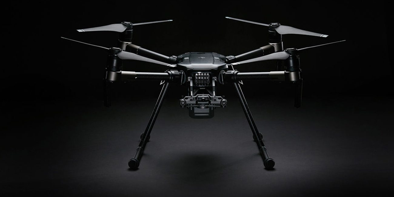 In DJI developed all-weather drone