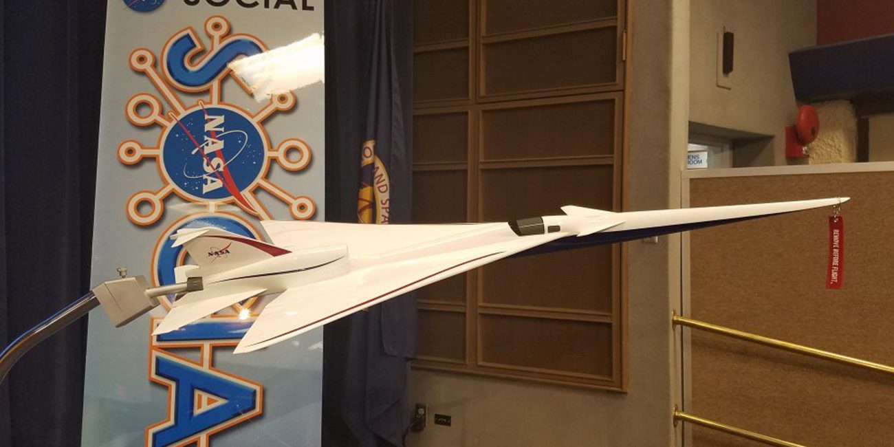 NASA has begun testing a miniature prototype of a supersonic aircraft