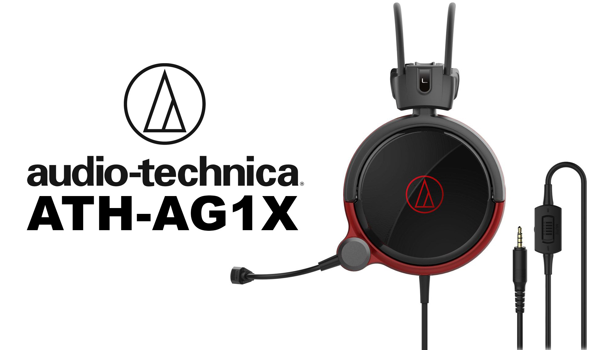 The gaming headset review Audio-Technica ATH-AG1X