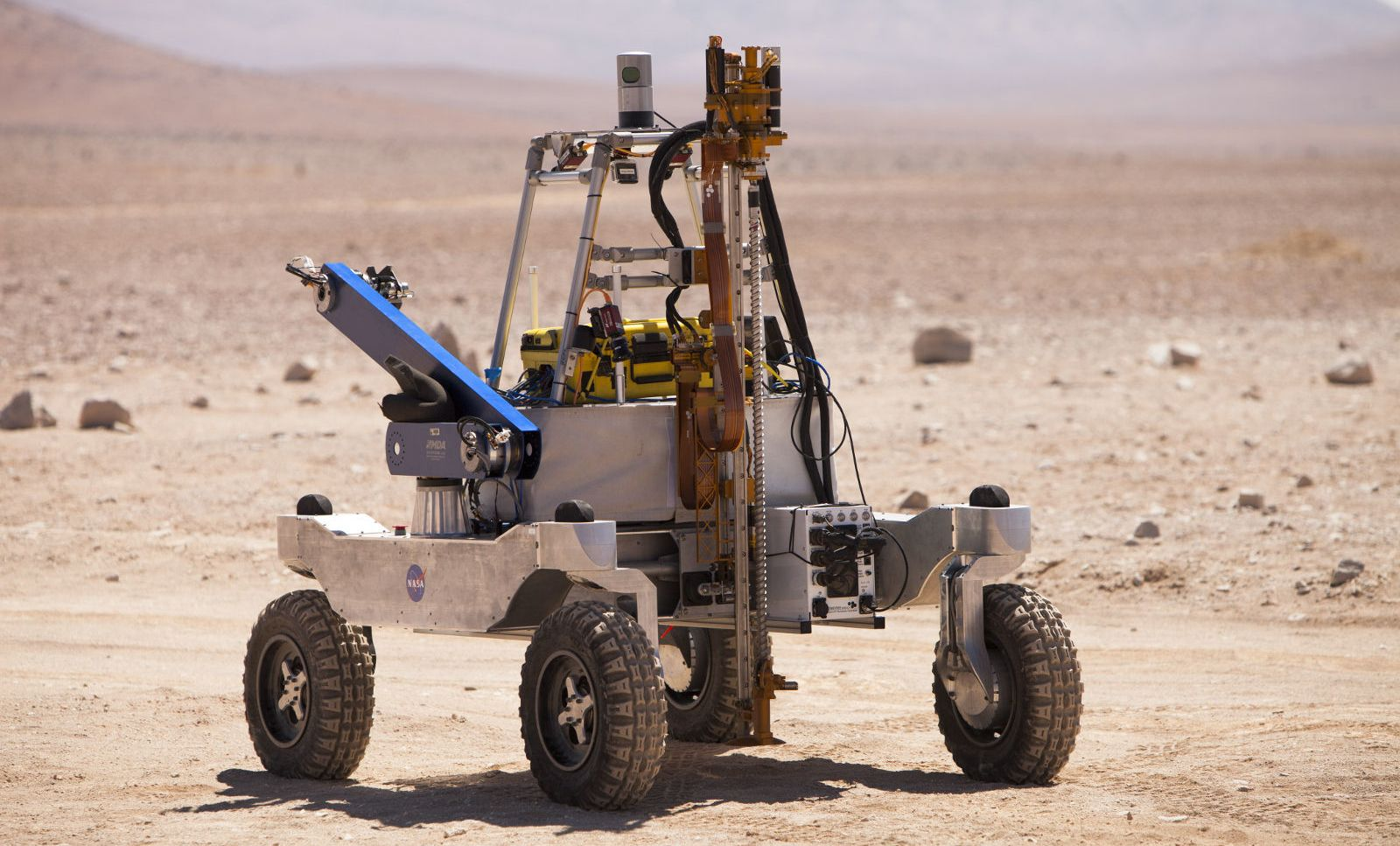 NASA is experiencing in the Chilean desert instruments to search for life on Mars