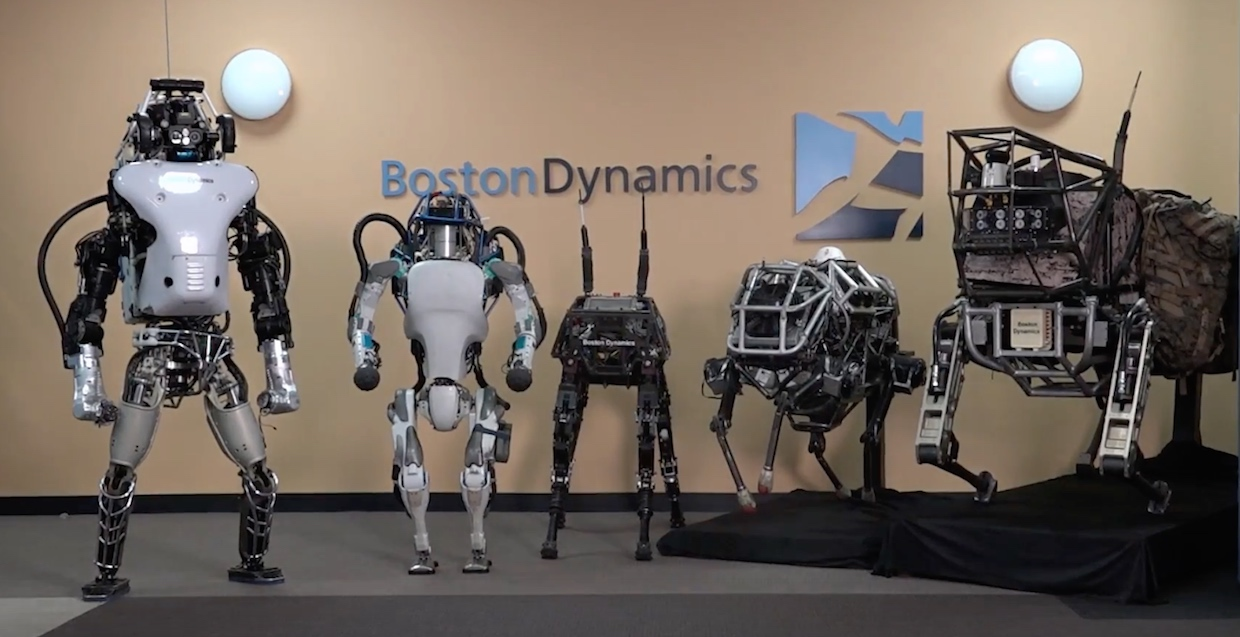 Alphabet Boston Dynamics was sold to the Japanese