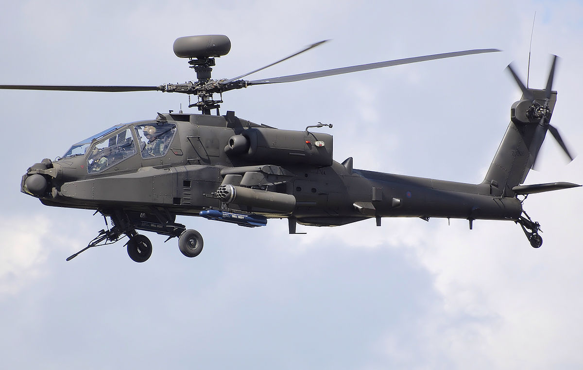 The us military has experienced combat laser in the helicopter