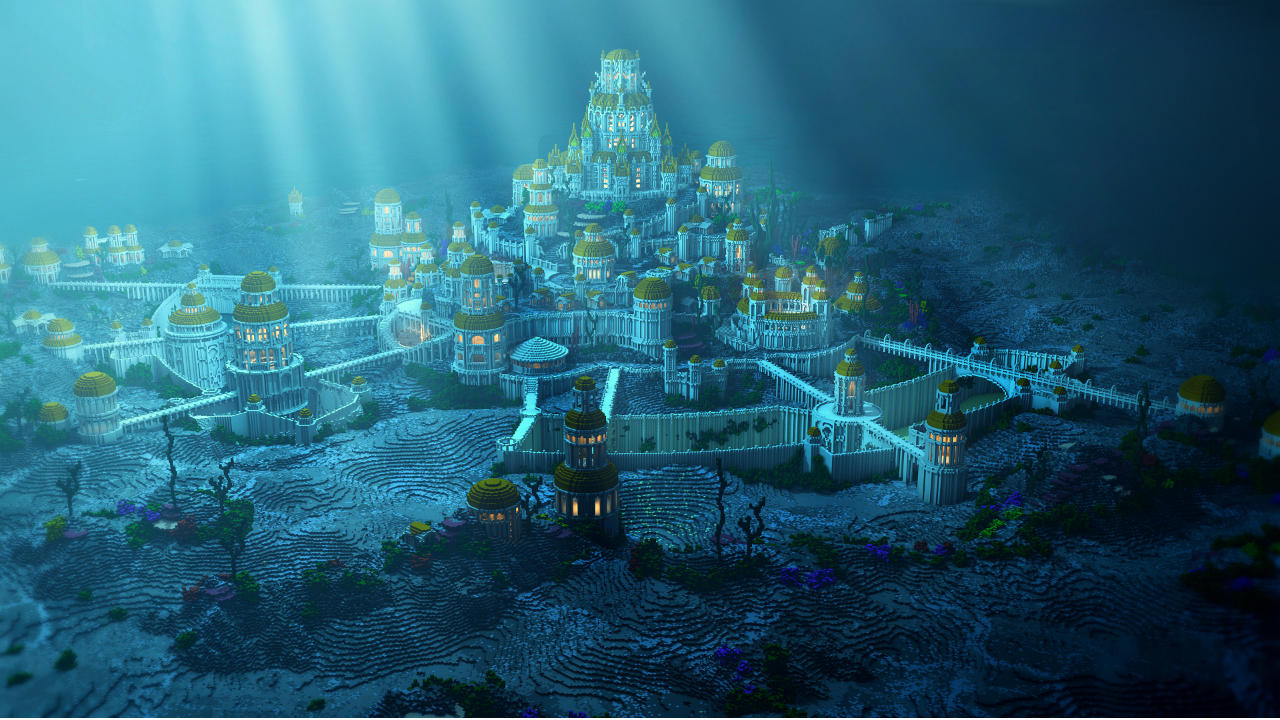 10 facts about the lost Atlantis, of which not all know