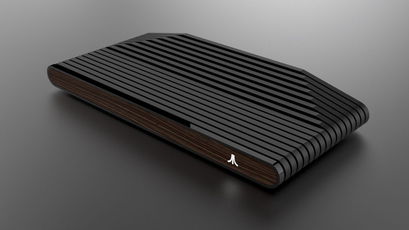 Atari has announced a new gaming console and showed the first image