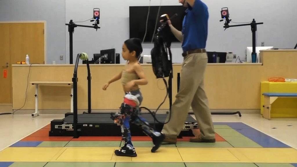 Exoskeletons will allow to improve the mobility of children with cerebral palsy
