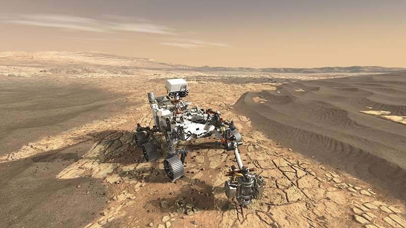 In the search for life on Mars will help... vanadium