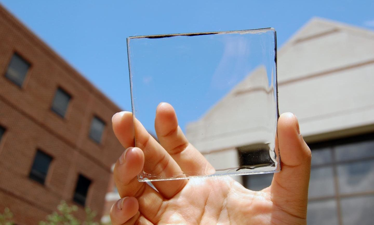 Scientists believe that the energy future for transparent solar panels