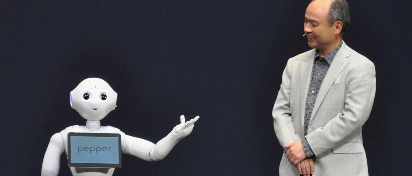 Chapter SoftBank: technological singularity will happen in 30 years