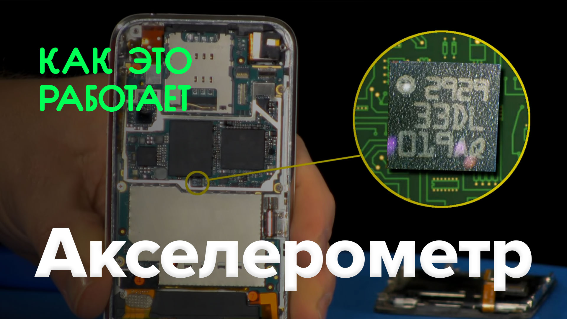 How does it work? | Accelerometer