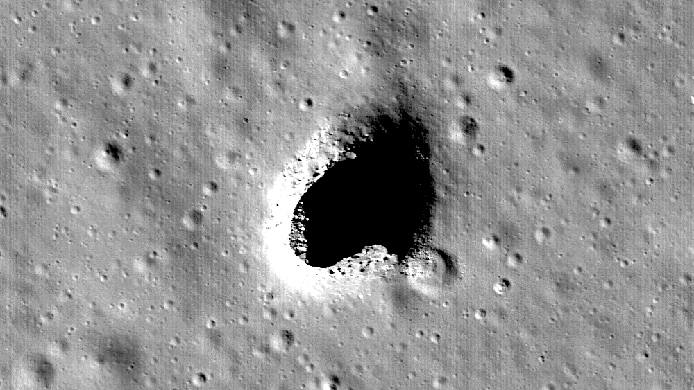 Scientists have found the perfect place to build underground colonies on the moon