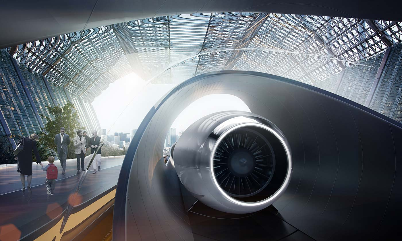 How does the Hyperloop?
