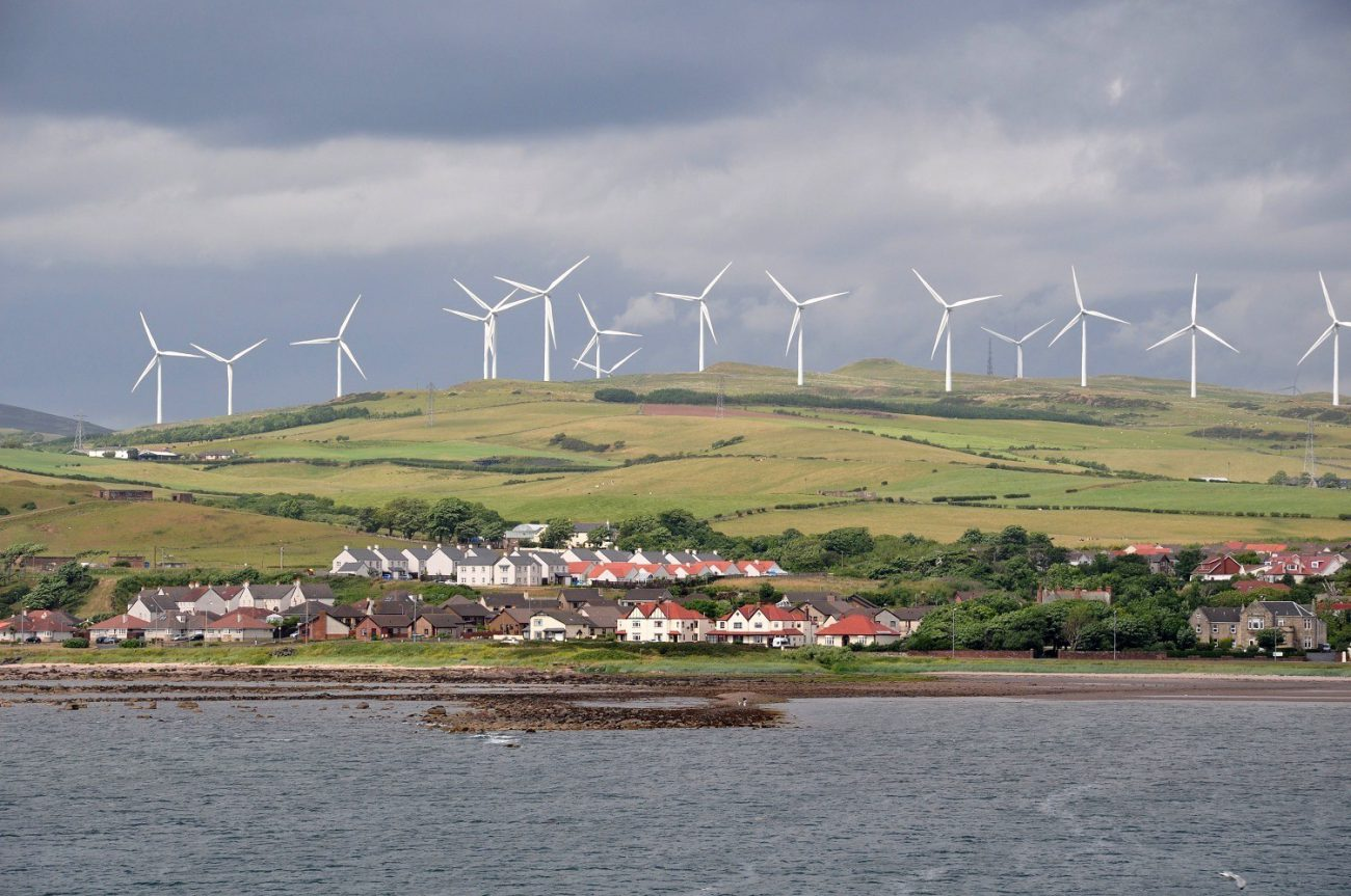 Scotland first in the world to fully switch to clean energy by 2020