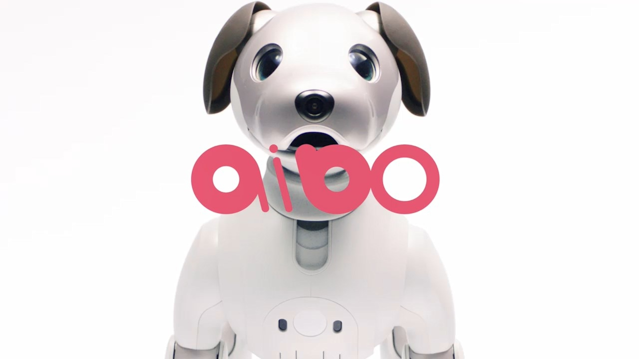 Sony introduced a new version of digital dog Aibo