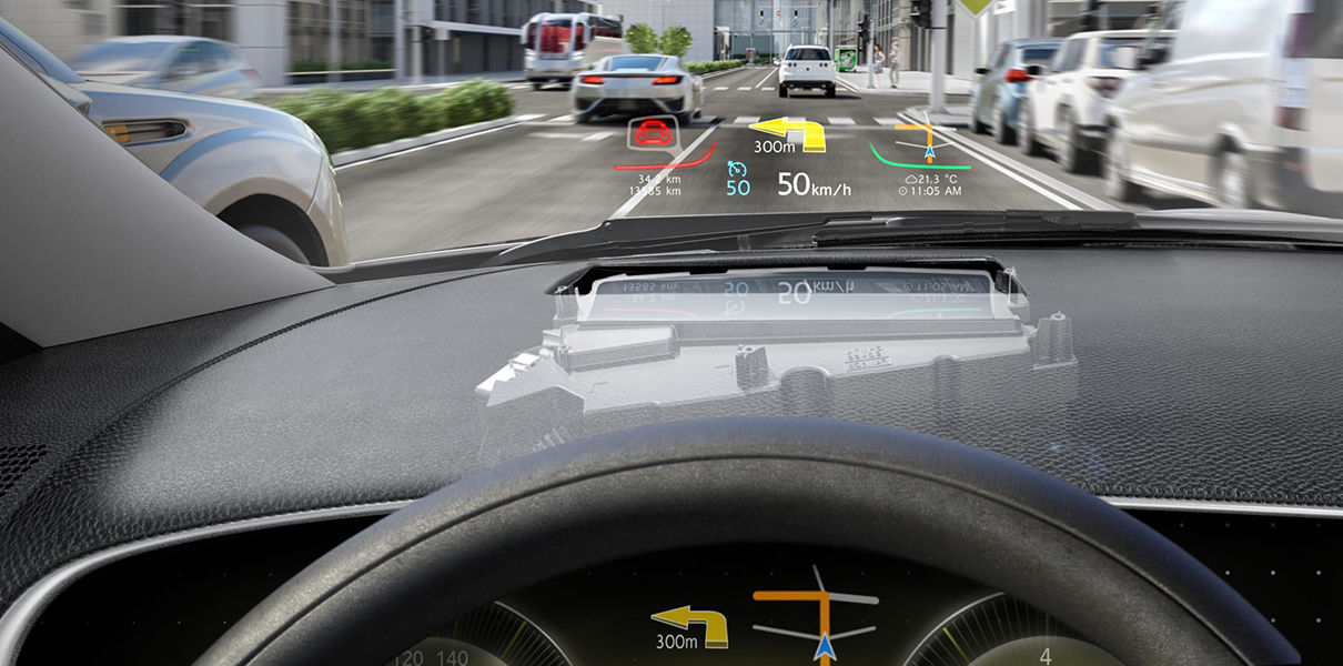 The Car Brand Lincoln Will Be Equipped With A Hud Display Instead Of