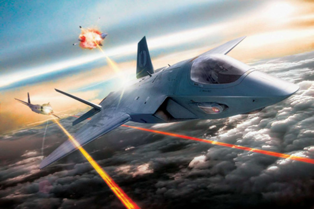 Fighters with combat lasers entered service already in 2021