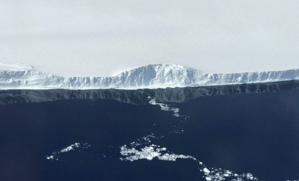 #photo of the day | NASA published pictures of a giant iceberg separated from Antarctica