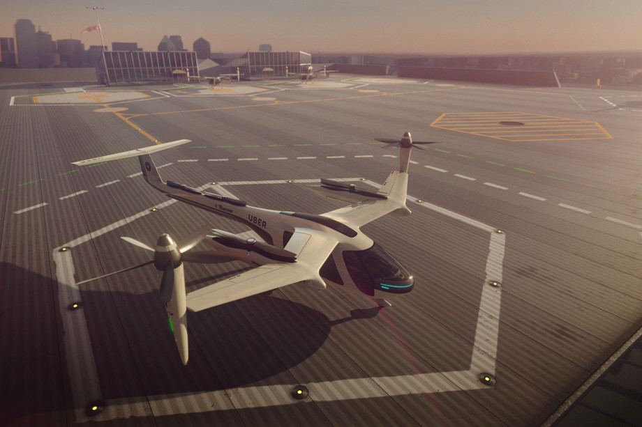 Uber has released a video demonstration of the flying taxi