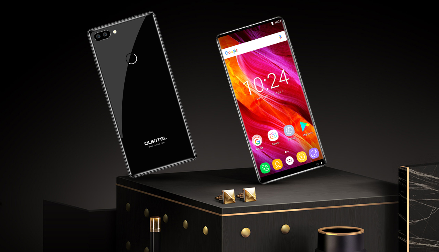 Become one of the first owners OUKITEL MIX 2!