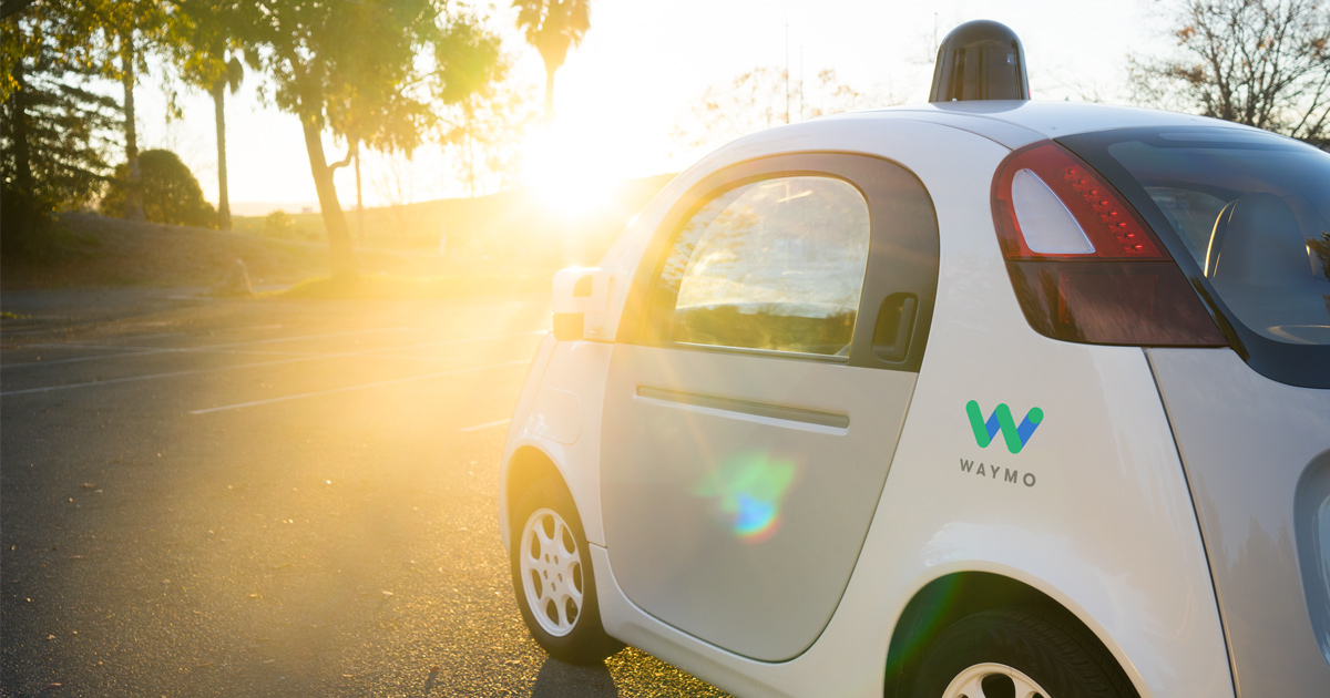 In Waymo abandoned manual control
