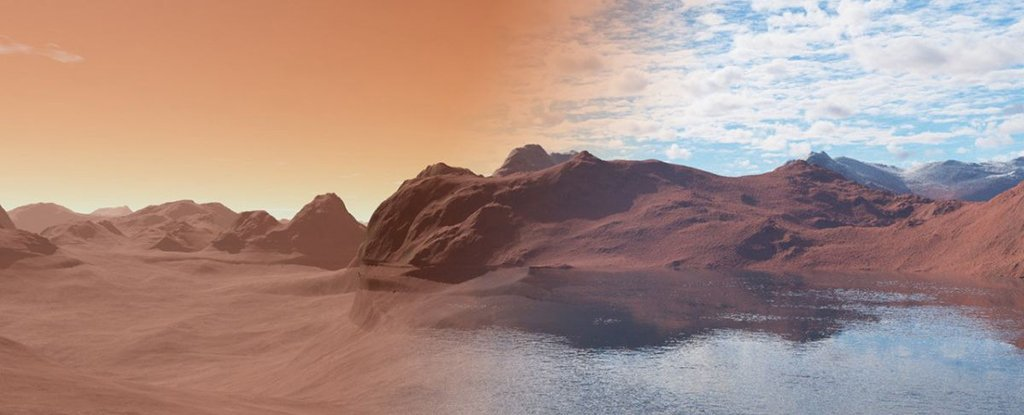 Where was the water from Mars? Scientists have a new hypothesis