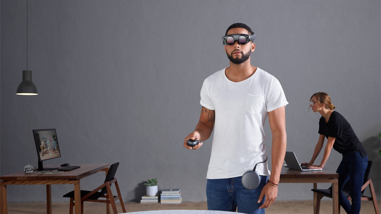 Magic Leap first showed his augmented reality glasses
