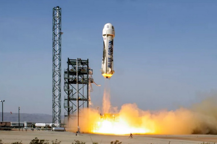 Blue Origin conducted a launch of a new modification of the rocket New Shepard