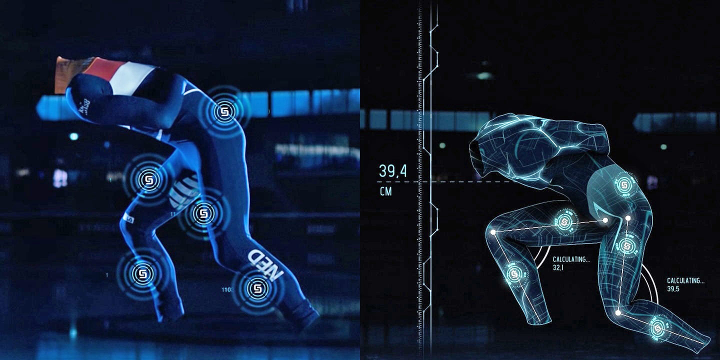 Samsung smart suits help the athletes prepare for the Olympic games