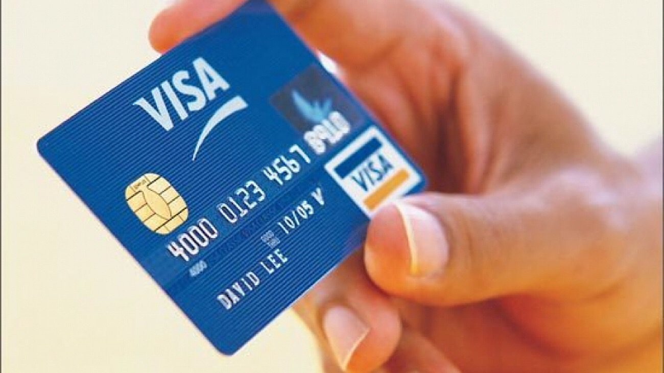 Visa embeds a fingerprint in its payment system
