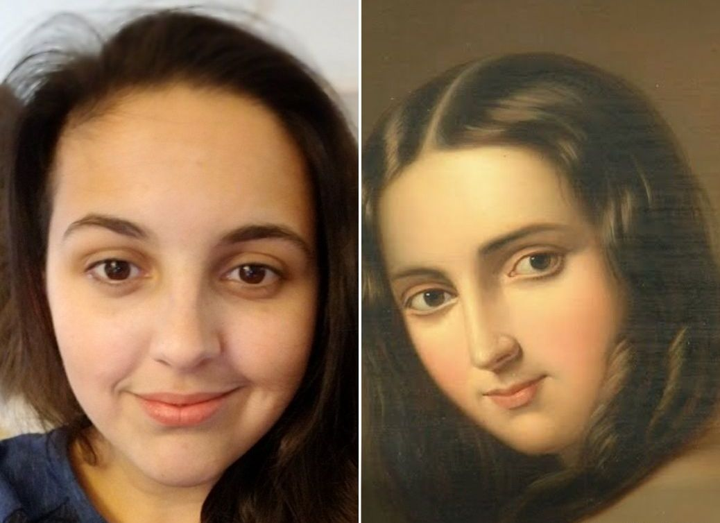 Google will find your DoppelgangeR in the paintings of artists