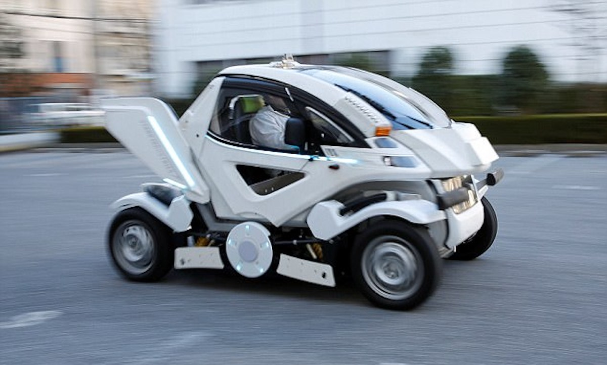 Earth-1: the first electric car-transformer