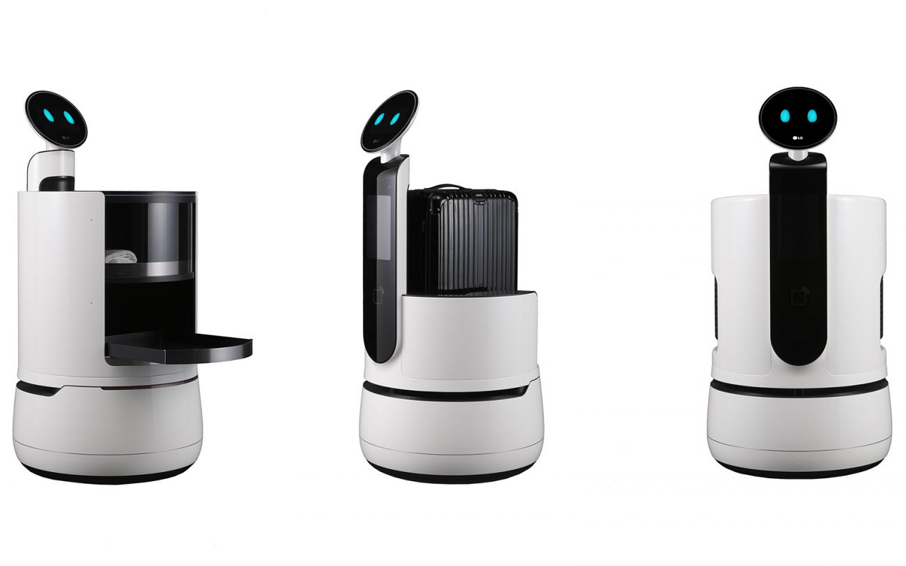 LG has recently unveiled a new line of robots for hotels and supermarkets