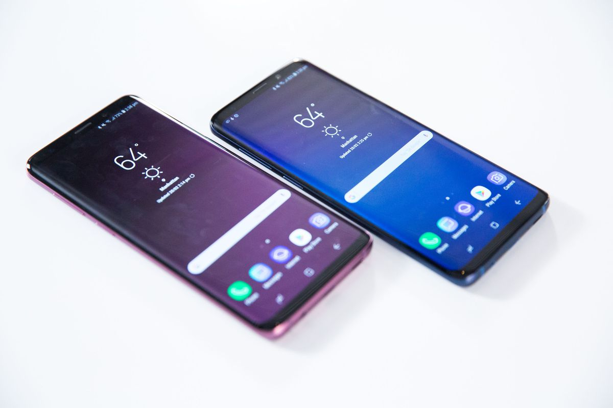 Samsung introduces the Galaxy S9 and S9+