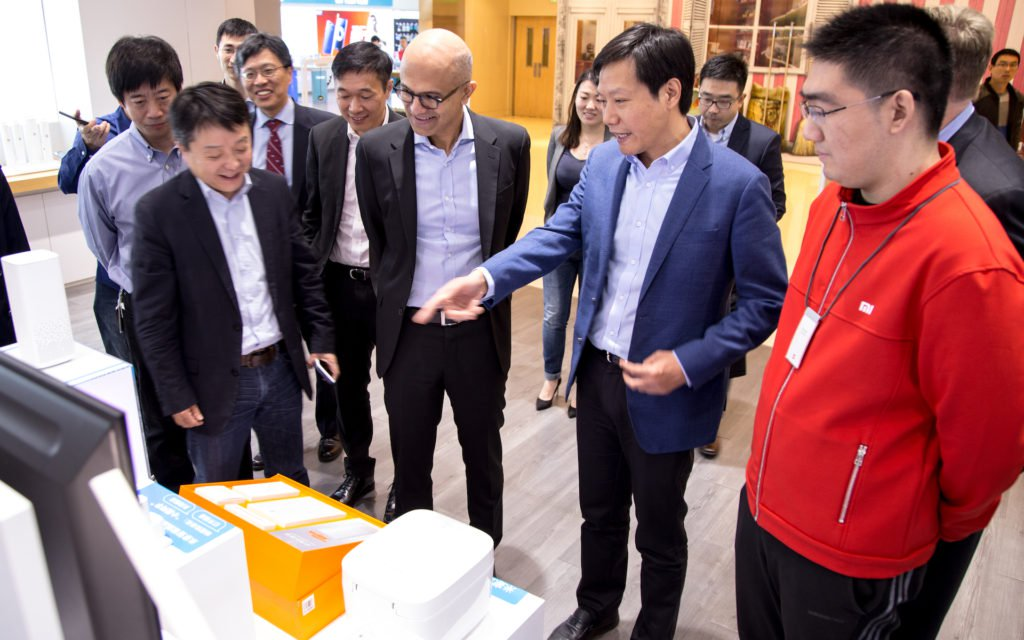 Microsoft and Xiaomi entered into a cooperation agreement