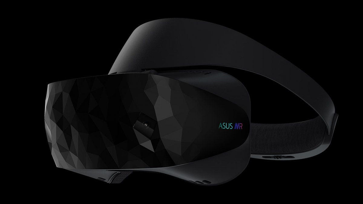 Asus has released a mixed-reality headset HC102