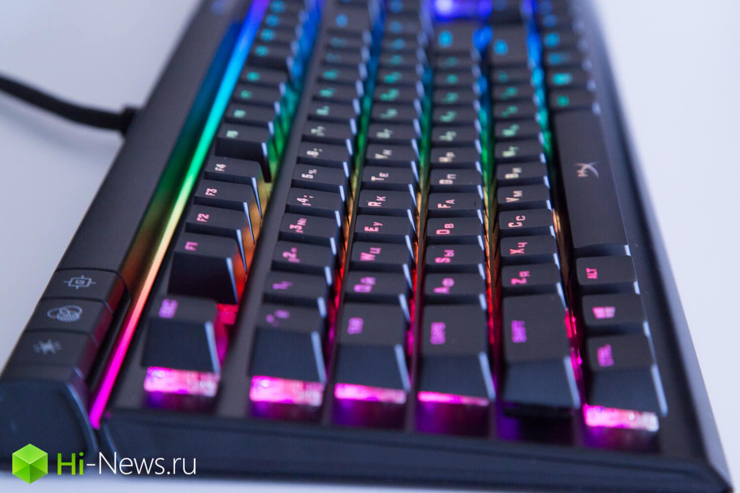 The game disco: review keyboard HyperX Alloy Elite RGB