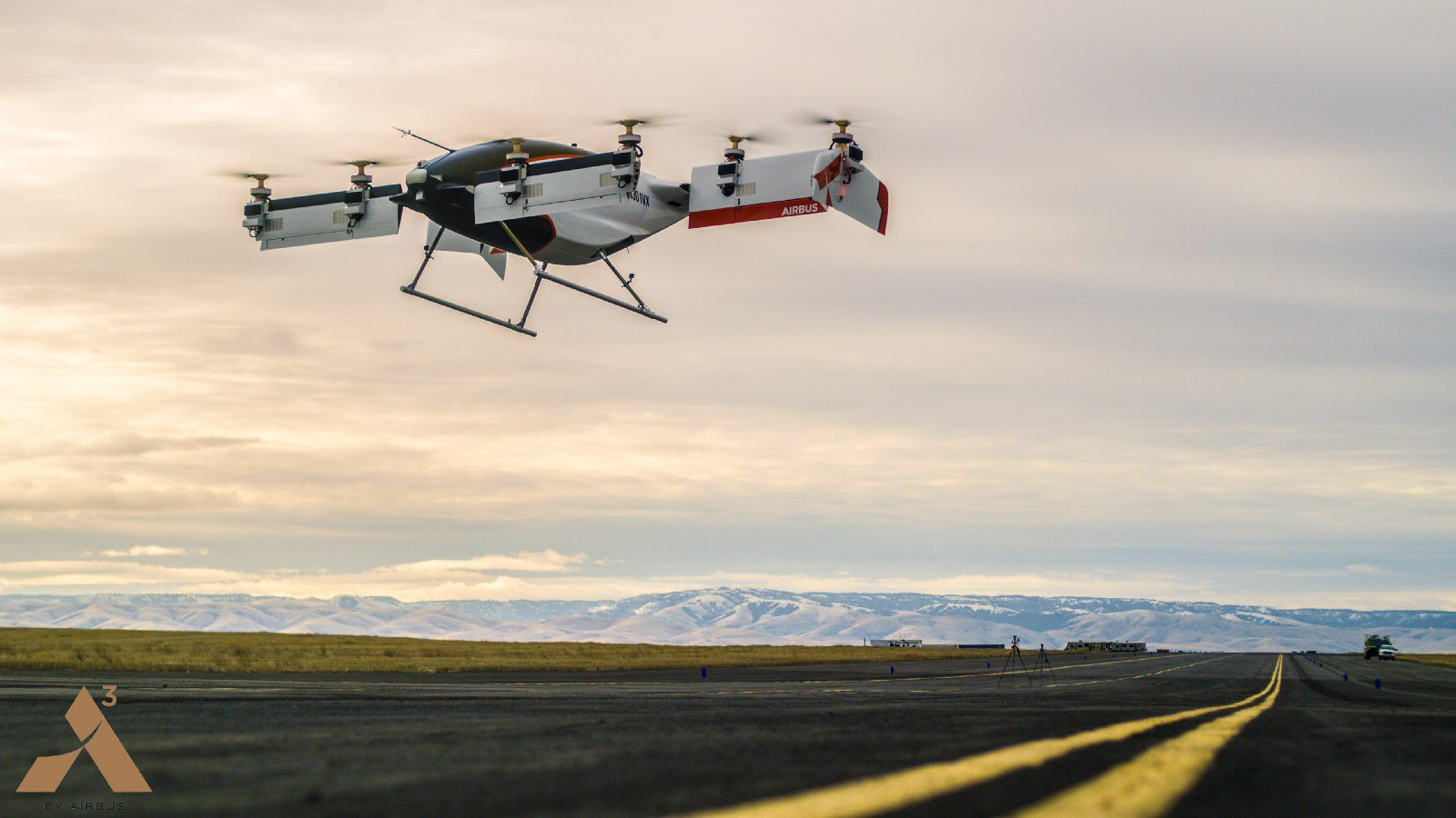 Airbus conducted the first tests of pilotless flying taxi