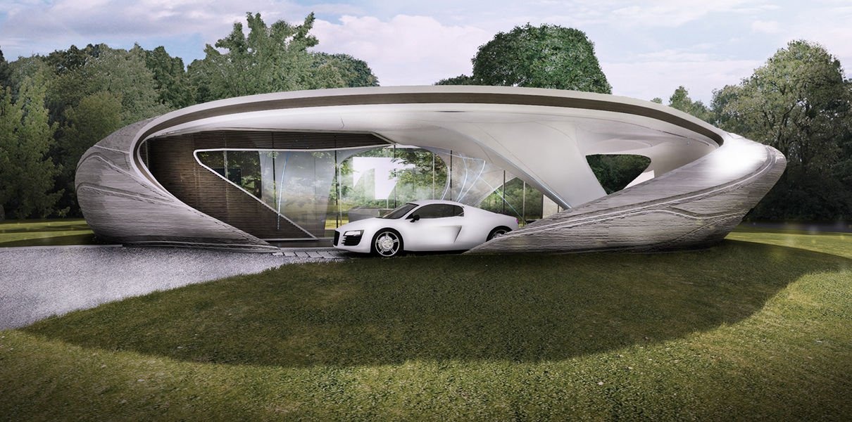 Startup WATG will print the world's first residential building a free-form