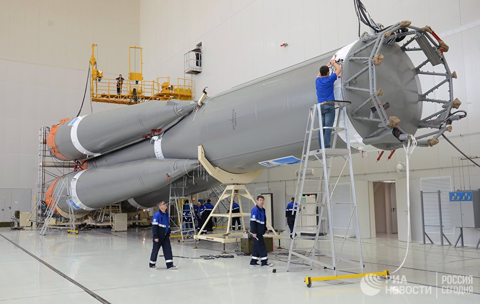 Began construction of the first heavy carrier rocket series