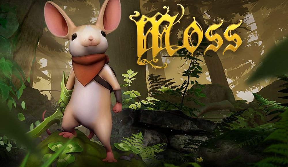 Game overview Moss: VR-tale for the whole family