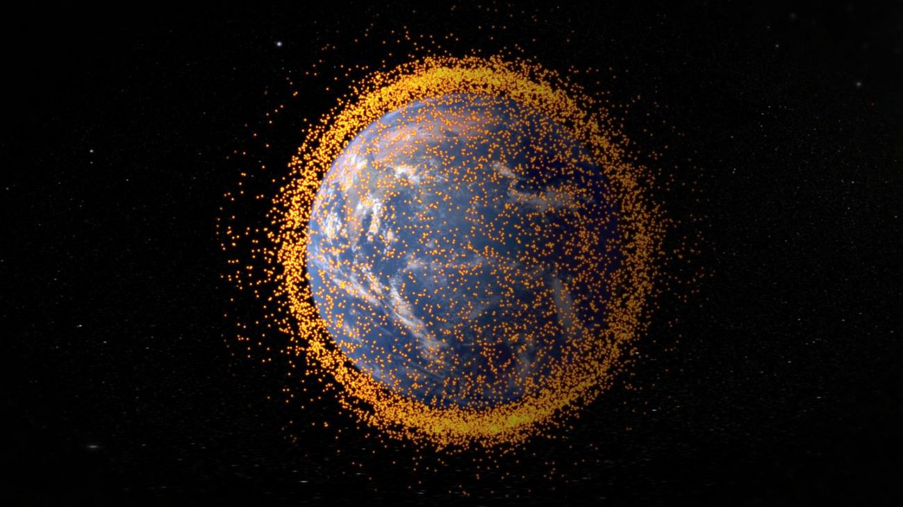 Space debris will be able to give our