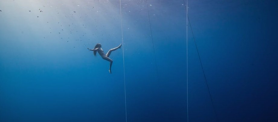 The divers break the laws of science, and we don't understand how they do it