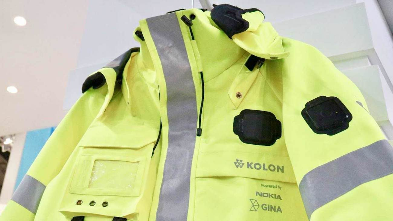 Nokia has introduced modular smart jacket
