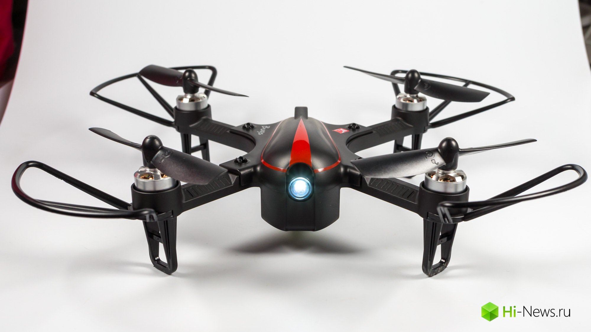Browse quadcopter MJX Bugs 3 Mini — brushless motors and speed