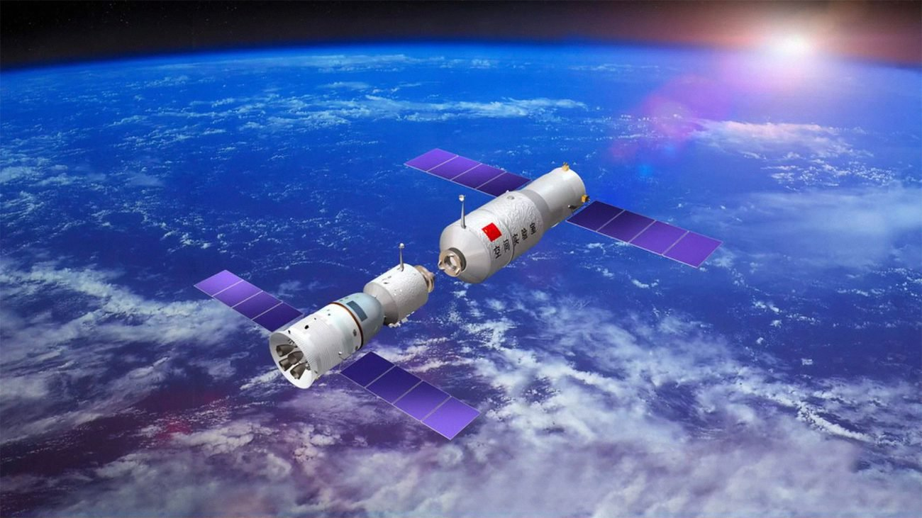 Chinese space station will fall to the Ground April 1