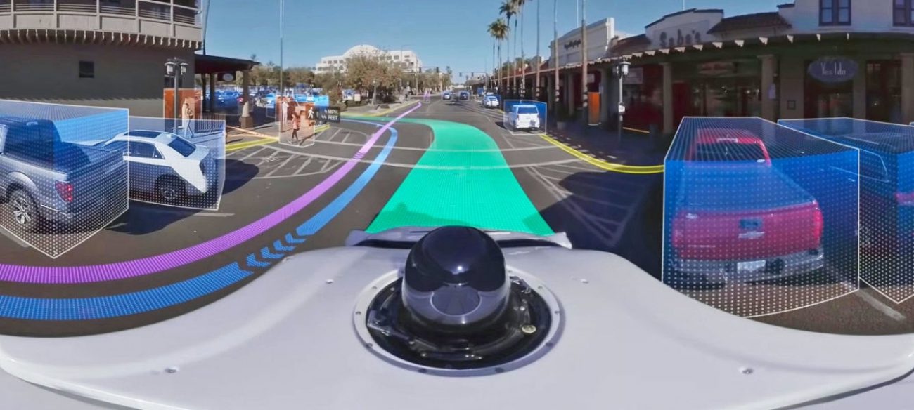 Waymo showed how robomobile